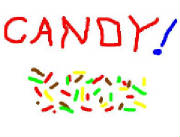 candy party picture